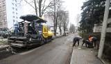 Trwają prace drogowe na ulicy Staszica w Rzeszowie