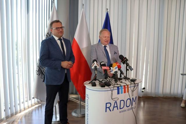 Prezydent Radosław Witkowski, prezes Sławomir Stempniewski