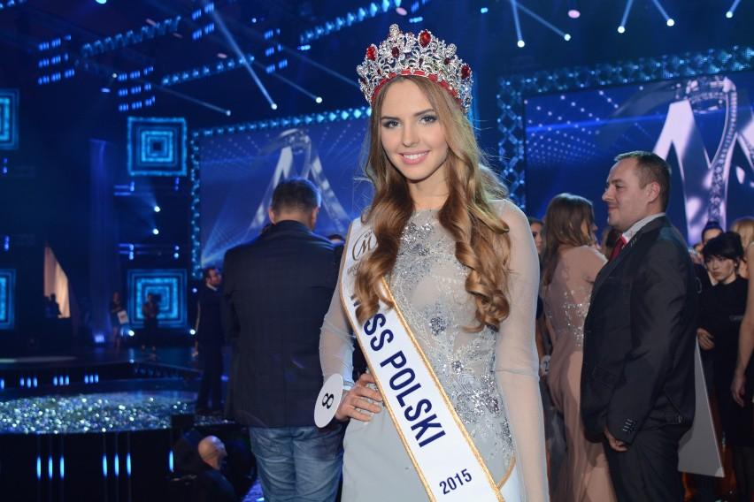 Finał Miss Polski 2015. Na zdjęciu: Magdalena Bieńkowska