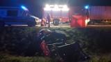 Wypadek na autostradzie A1 koło Piotrkowa. Są ciężko ranni. Ranna kobieta zmarła w szpitalu. Informacje 4.11.2019