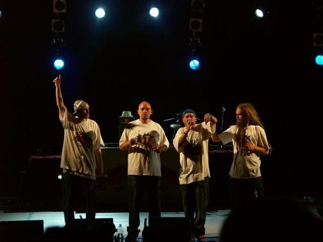 Looptroop podczas koncertu w Warszawie