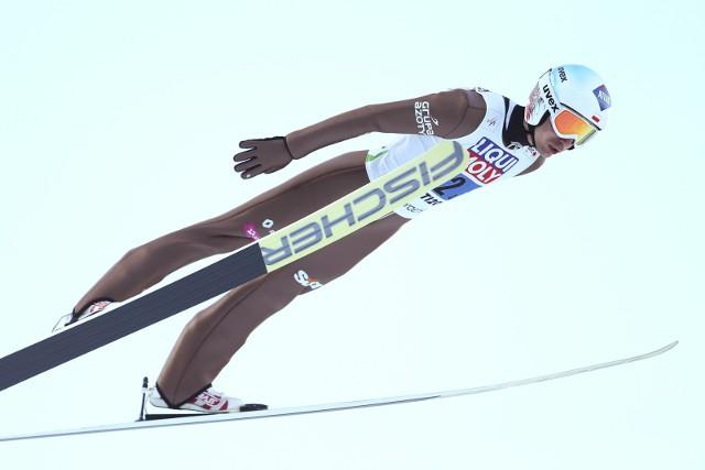 Kamil Stoch jest rekordzistą Polski w długości skoku - 251,5 m. Rekord świata - 253,5 m - należy do Stefana Krafta