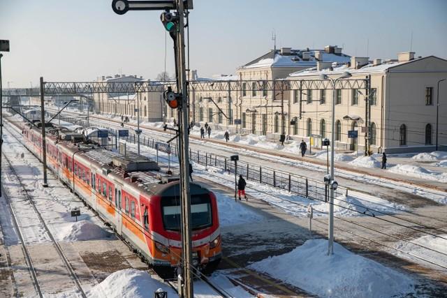Atak zimy w Podlaskiem sparaliżował kolej