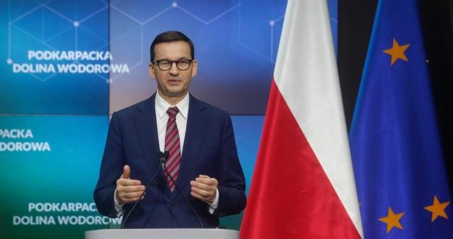 -  Będę wnioskował o daleko idące sankcje wobec Białorusi, żeby skończyły się te bezprawne akcje- przyznał premier Mateusz Morawiecki.