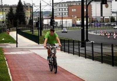 Nad rozwojem ścieżek będzie czuwać oficer rowerowy Fot. Andrzej Banaś