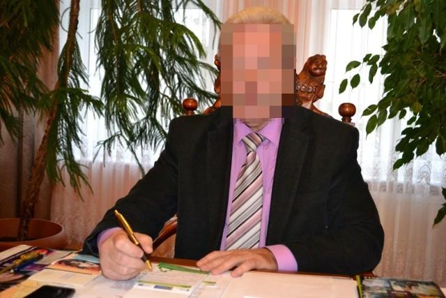 Mirosław B., były burmistrz gminy Debrzno