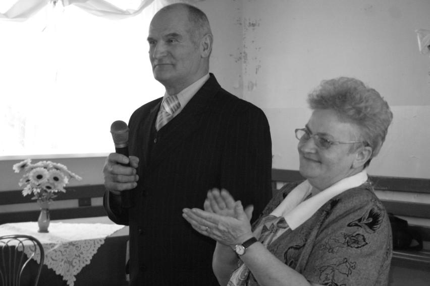 Ryszard Szociński (na zdjęciu z Krystyną Krysińską) zmarł w piątek w wieku 72 lat