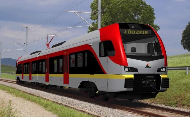 Tak mają wyglądać nowe pociągi Łódzkiej Kolei Aglomeracyjnej