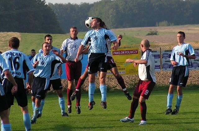 IV liga, jesień 2006: Płomień Jerzmanowice - Polan Żabno