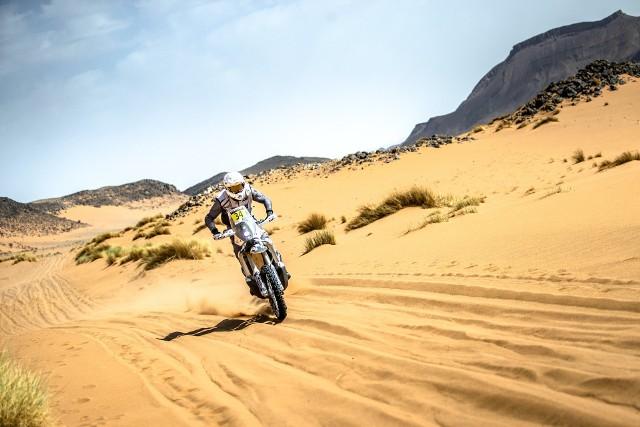 Konrad Dąbrowski, dzięki pomocy Rafała Sonika, wygrał Rajd Maroka!