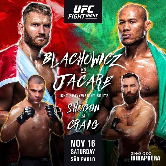Plakat UFC Fight Night 164