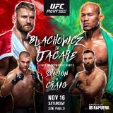 """UFC Sao Paulo. Jan Błachowicz zawalczy w jaskini lwa z legendarnym """"Jacare"""""""