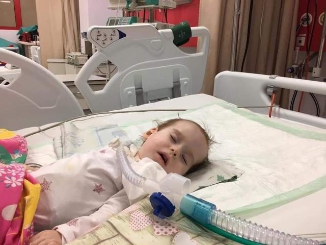 Marysia trafiła wczoraj do szpitala