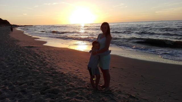 Zachód słońca w Ostrowie