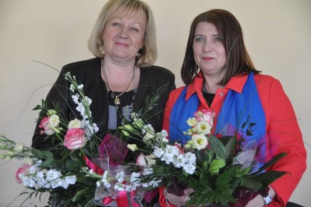 Marianna Michalska (z lewej) od czwartku, 19 maja jest wiceprzewodniczącą rady Powiatu Koneckiego, zaś jej koleżanka z klubu Polskiego Stronnictwa Ludowego, Dorota Duda etatowym członkiem Zarządu Powiatu.