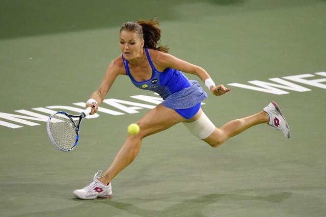 Agnieszka Radwańska zajmuije trzecie miejsce w najnowszym rankingu WTA