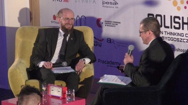 Radek Ratajczak, dyrektor Centrum Transferu Technologii UTP i dr inż. Piotr Szewczykowski, adiunkt na UTP