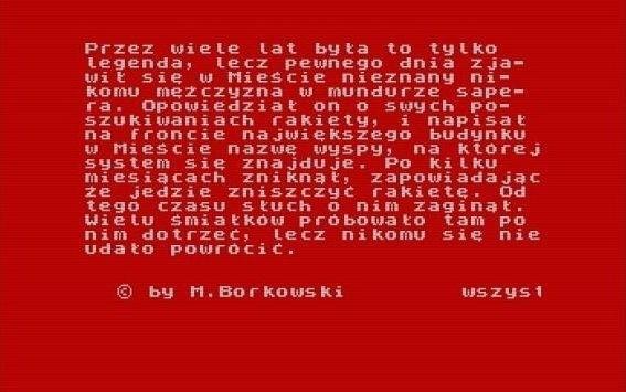 Puszka PandoryPuszka Pandory, pierwsza polska gra komputerowa