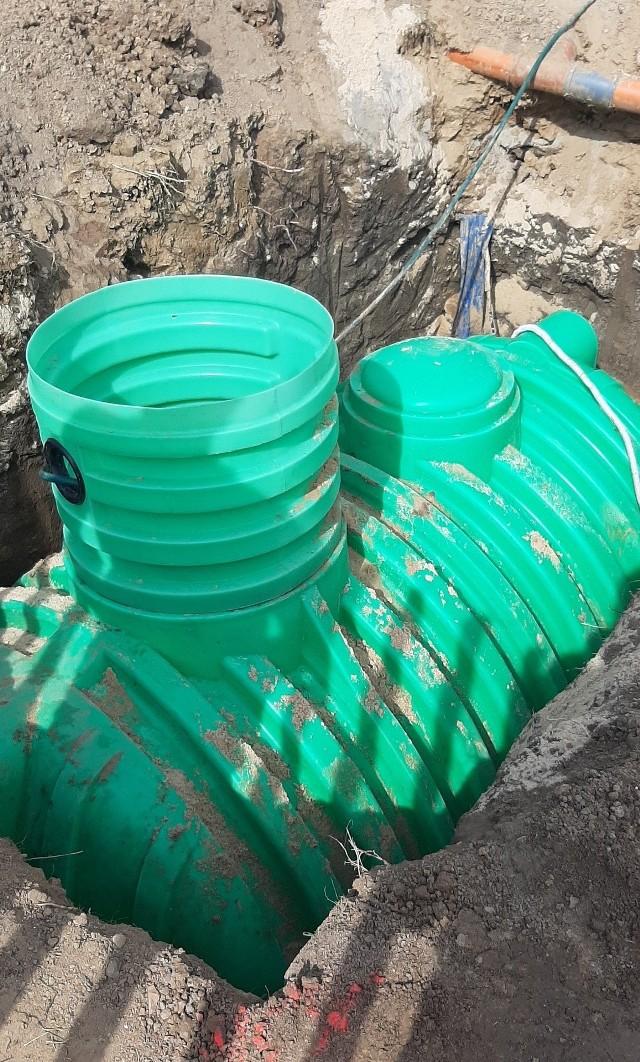 Zbiorniki na deszczówkę - montowane na prywatnych posesjach w gminie Wielka Wieś sa dotowane przez samorząd
