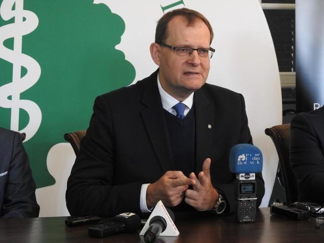 Rektor Uniwersytetu Medycznego w Białymstoku, prof. dr hab. Adam Krętowski