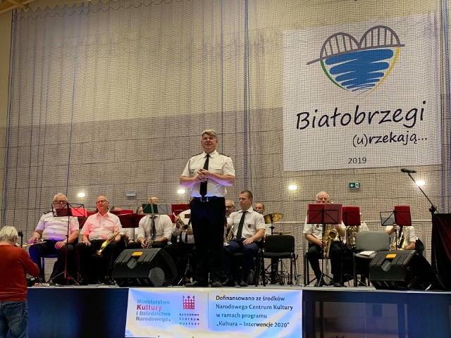 Białobrzeska Orkiestra Dęta OSP dawała już koncerty dla mieszkańców Białobrzegów, ponownie zagra w najbliższą niedzielę.
