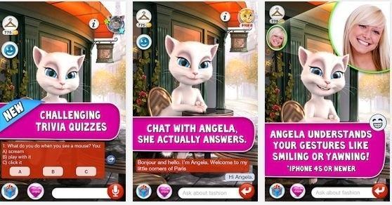 Talking Angela - tajemnicza aplikacja na Androida [JAK GRAĆ, OPINIE, POBIERZ]