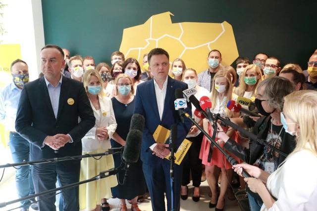 Szymon Hołownia ogłosił, że nie zagłosuje na Andrzeja Dudę.