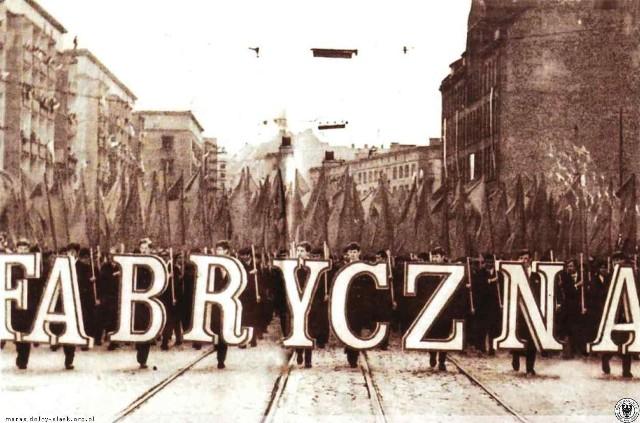 Ulica Piłsudskiego, rok 1975.