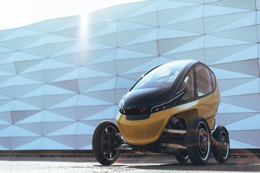 Elektryczny samochód Triggo z Kutna. Firma AMZ rozpoczyna...