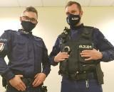 Koluszkowscy policjanci uratowali życie młodej kobiecie