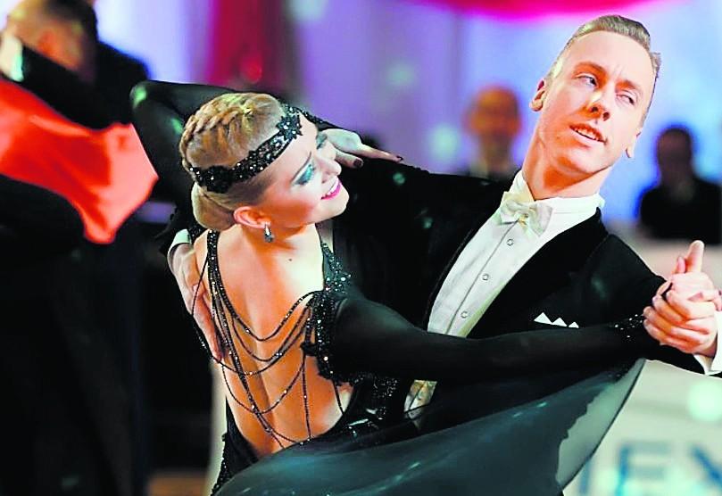 Bartosz Lech i Kornelia Kopaczyńska wywalczyła III miejsce,...