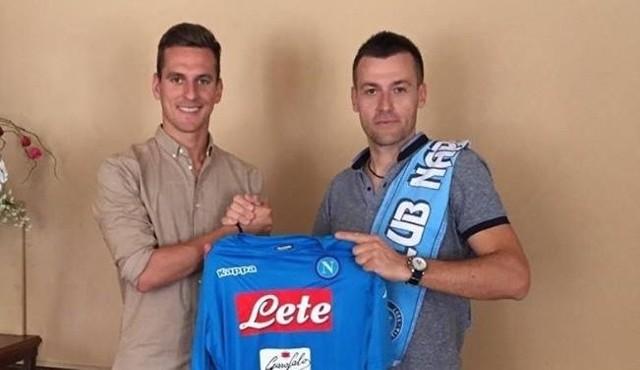Arkadiusz Milik przeniósł się do Serie A