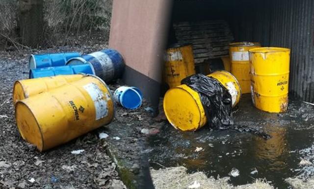 W środę (24.03.2021) strażnicy miejscy jadący ul. Smoleńską w Bydgoszczy zauważyli metalowe beczki porzucone przy stacji transformatorowej. Jak się okazało, nie tylko tam...Więcej zdjęć  i informacji >>>