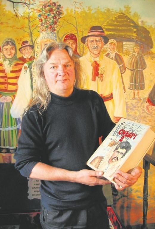 """Tadeusz Modrzejewski przepisał i zilustrował m.in. """"Chłopów"""""""