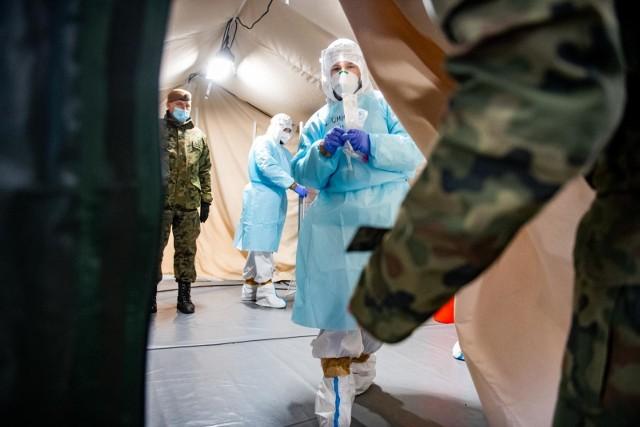 Ostatniej doby wykonano w Toruniu 322 testy na koronawirusa