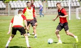 Korona Kielce przygotowuje się do sezonu. Trenują Cetnarski, Kiercz i Prętnik. Zobaczcie kto jeszcze uczestniczy w zajęciach [ZDJĘCIA]
