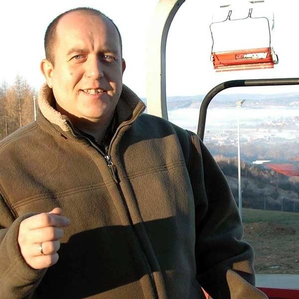 Robert Kazimir: - Wyciąg czeka na narciarzy. Potrzeba jednak mrozu, aby rozpocząć zaśnieżanie.