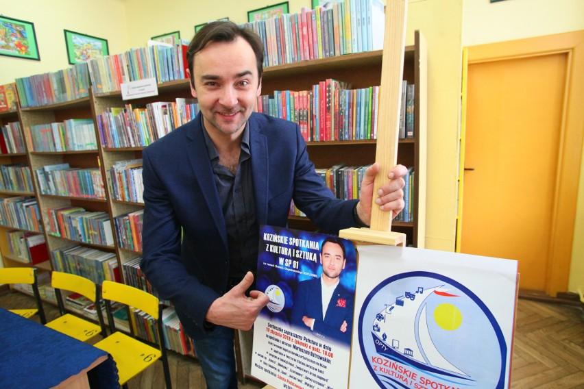 Gościem pierwszego ze spotkań w Szkole Podstawowej nr 91 w Łodzi będzie aktor Mariusz Ostrowski