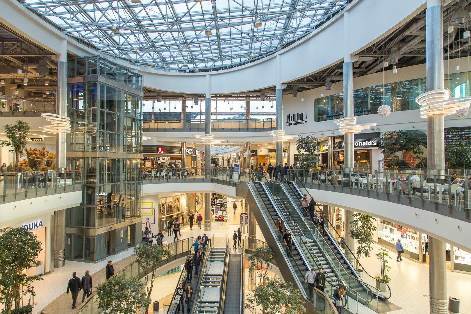Gliwice Centrum Handlowe Forum Otwarte W Niedziele Z Zakazem Handlu