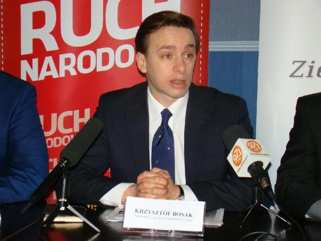 Krzysztof Bosak kolejnym kandydatem na prezydenta Zielonej Góry