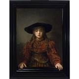"""Alicja Jakubowska: Dziełem """"Dziewczyna w ramie obrazu"""" Rembrandt zjednoczył rzeczywistość ze światem sztuki"""