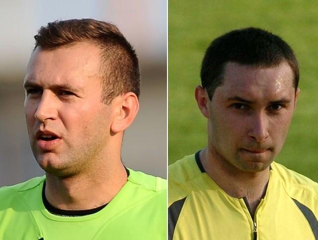 Mariusz Myszka (z lewej) czy Artur Szelc? Który z podkarpackich arbitrów wykorzysta szanse awansu do grupy Top Amator C? A może obaj?