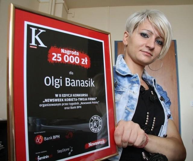 Olga Banasik zwyciężyła w konkursie i otworzy pierwszy w województwie żłobek dla chorych dzieci. Fot. Dawid Łukasik