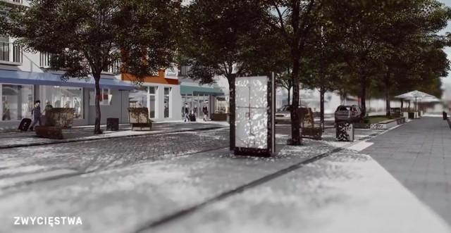 Podczas ostatniej sesji Rady Miejskiej firma toprojekt z Rybnika przedstawiła proponowaną wizualizację rewitalizacji śródmieścia Koszalina. Docelowo tak miałoby w przyszłości wyglądać centrum miasta.