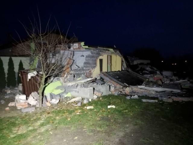 Wybuch gazu zniszczył dom przy ulicy Romańskiej w Kaliszu