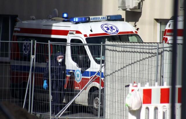 66-latek trafił do szpitala przy ul. Staszica w Lublinie. Zmarł w sobotę