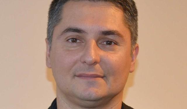 Marcin Nyga, oficer prasowy starachowickich strażaków