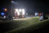 Królowy Most: Wypadek na DK 65. Samochód potrącił konia. Zwierzę padło, kierowca ranny [ZDJĘCIA]
