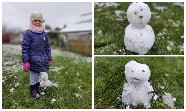 Śnieg w Białymstoku i w województwie podlaskim. Zima dotarła do regionu