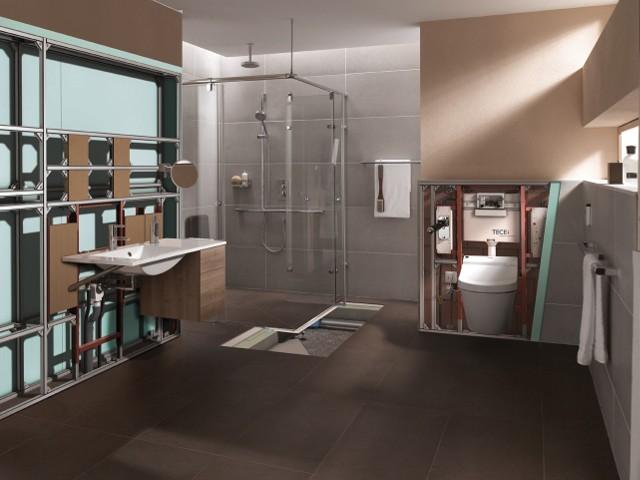 Łazienka idealna dla osób starszych i niepełnosprawnych (ZDJĘCIA)Idealna łazienka dla osób niepełnosprawnych i starszych (ZDJĘCIA)